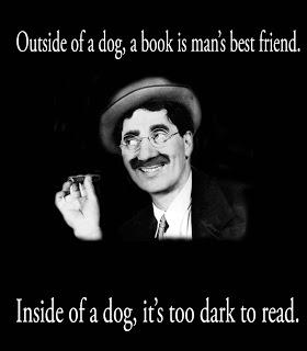 Groucho oin inside, outside